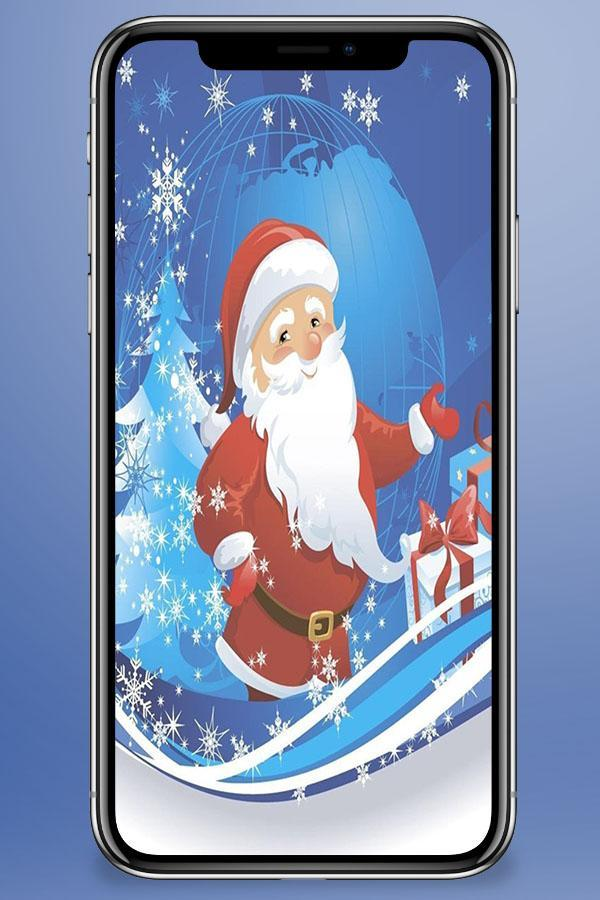 Santa Claus Wallpaper poster