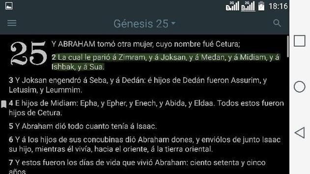 Antiguo Testamento - La Biblia Reina Valera скриншот 8