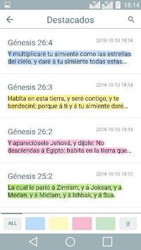 Antiguo Testamento - La Biblia Reina Valera скриншот 3