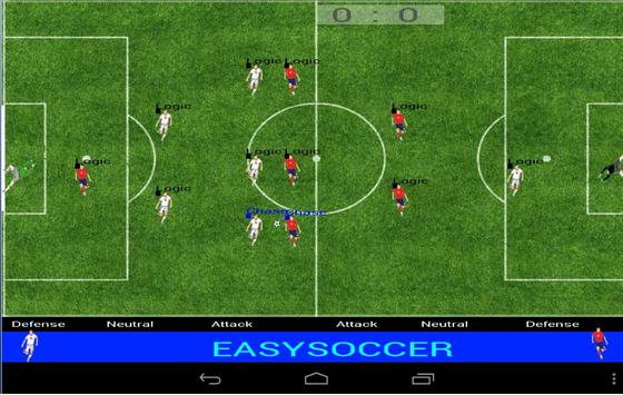 Easysoccer poster