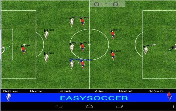 Easysoccer screenshot 1