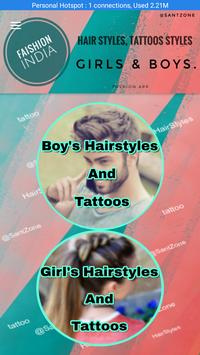 Fashion India Hair And Tattoos Style apk screenshot