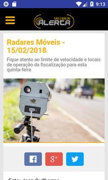 São Carlos Alerta poster