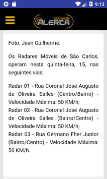 São Carlos Alerta screenshot 1