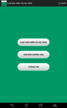 Luật Bảo hiểm xã hội 2006 apk screenshot