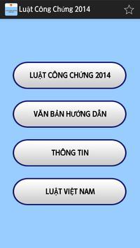 Luật Công chứng Việt Nam 2014 poster