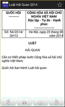 Luật Hải quan Việt Nam 2014 screenshot 2