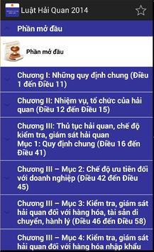 Luật Hải quan Việt Nam 2014 screenshot 3