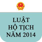 Luật Hộ tich Việt Nam 2014 icon