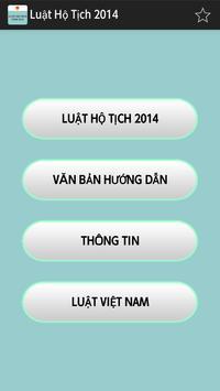 Luật Hộ tich Việt Nam 2014 poster