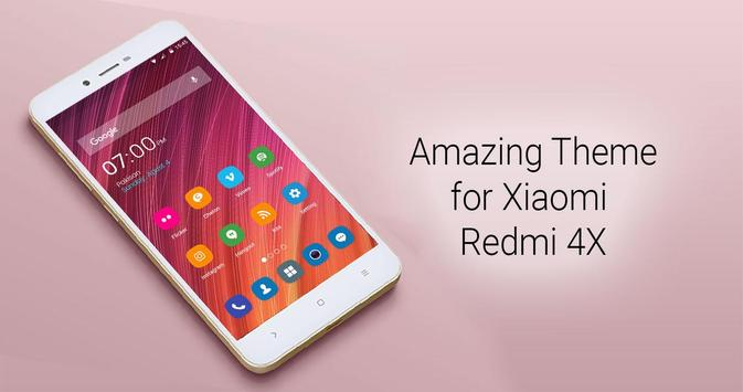 Redmi Note 4 For Android Apk: Theme For Xiaomi Redmi Note 4X For Android
