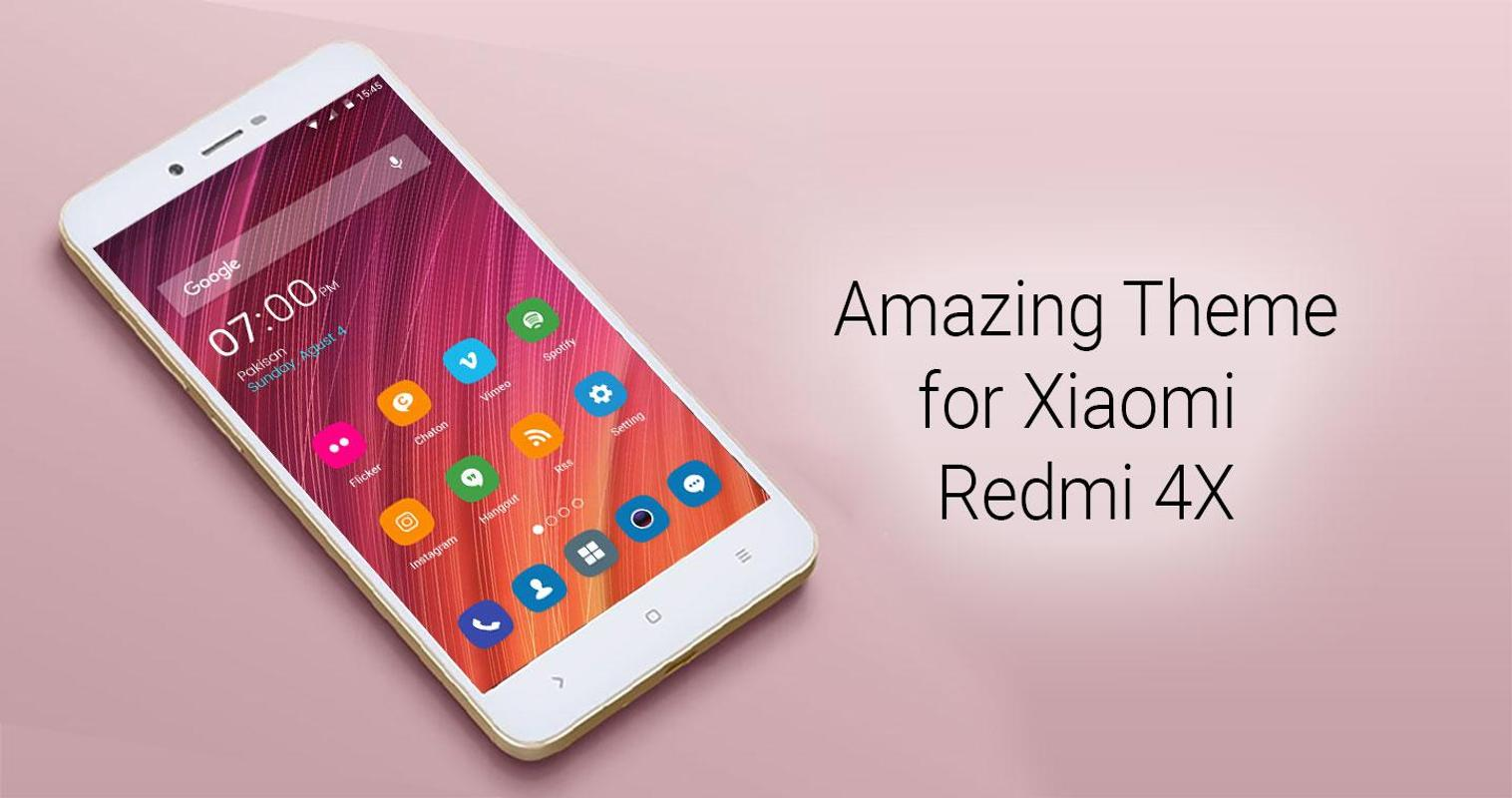 Theme For Xiaomi Redmi Note 4 For Android: Theme For Xiaomi Redmi Note 4X For Android