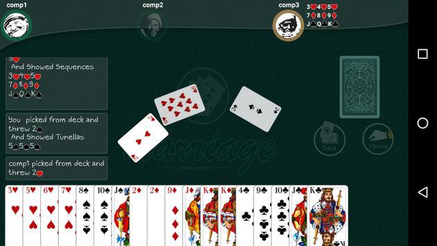 Marriage Card Game apk screenshot