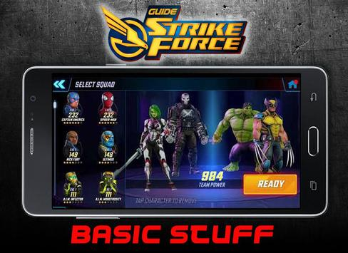 Guide Strike Force poster