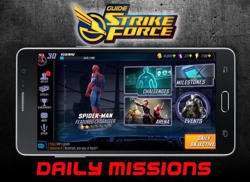 Guide Strike Force screenshot 1