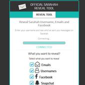 Sarahah Reveal  Profile icon
