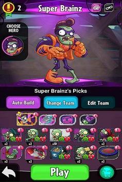Tips Plants vs Zombies Heroes screenshot 1