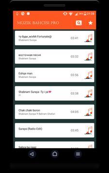 Şarkı Bahçesi Pro screenshot 1