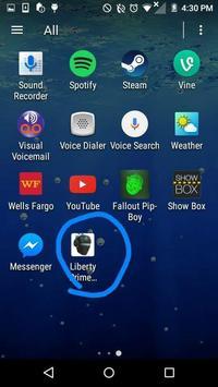 Liberty Prime soundboard apk screenshot