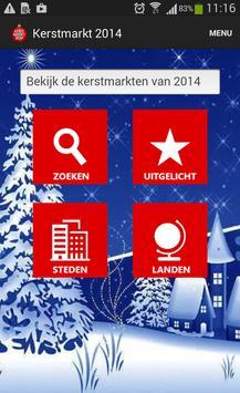 Kerstmarkt 2014 poster