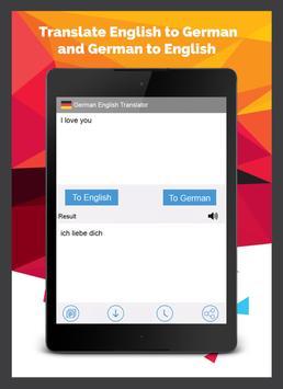 German English Translator screenshot 8