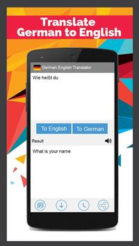 German English Translator screenshot 1