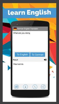German English Translator screenshot 3