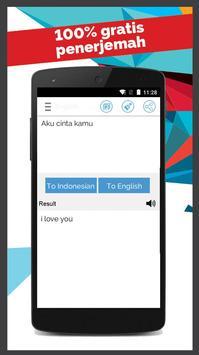Indonesian English Translator apk screenshot
