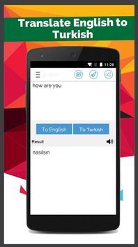Turkish English Translator screenshot 4