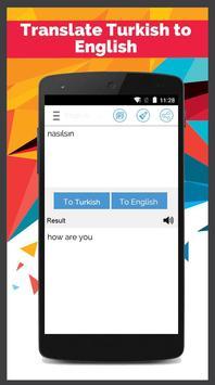 Turkish English Translator screenshot 5
