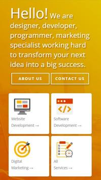Roopokar : Professional web design company poster