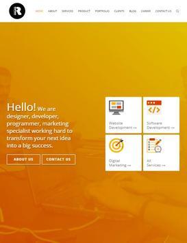 Roopokar : Professional web design company screenshot 1