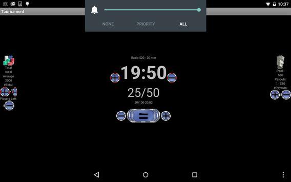 Home Poker Tools - Clock apk screenshot