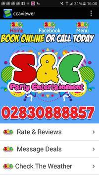 S & C Party Entertainment poster