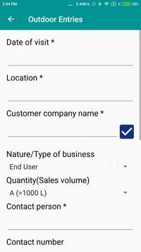 Scube Sales Support App screenshot 5