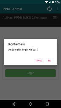 PPDB Admin screenshot 2