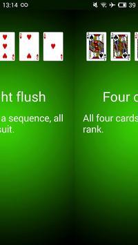 Poker Hands screenshot 4