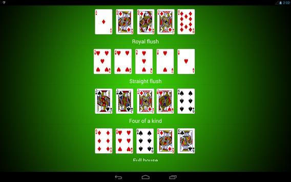 Poker Hands screenshot 8