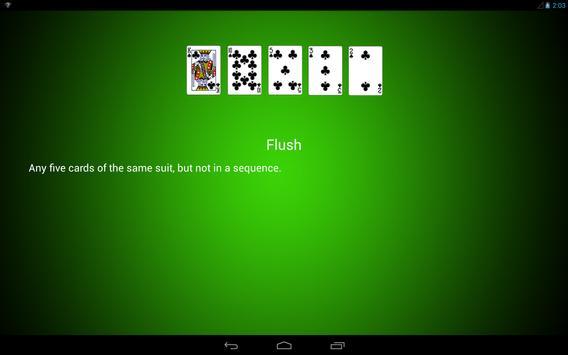 Poker Hands screenshot 9