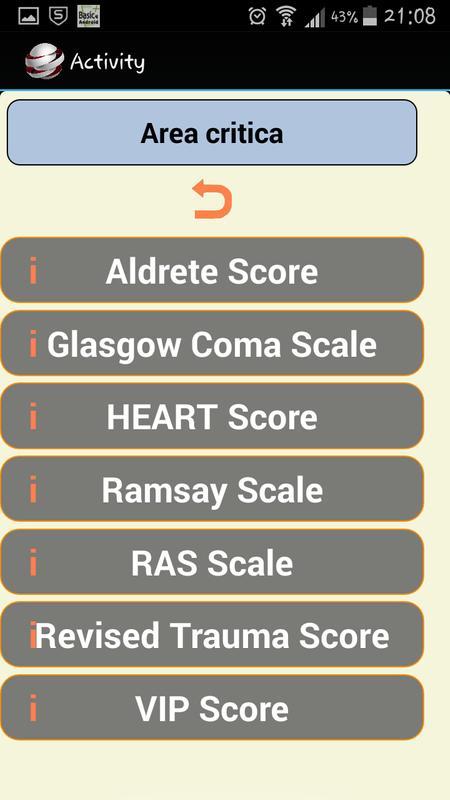 Scale di valutazione apk baixar gr tis medicina for Como se escribe beta