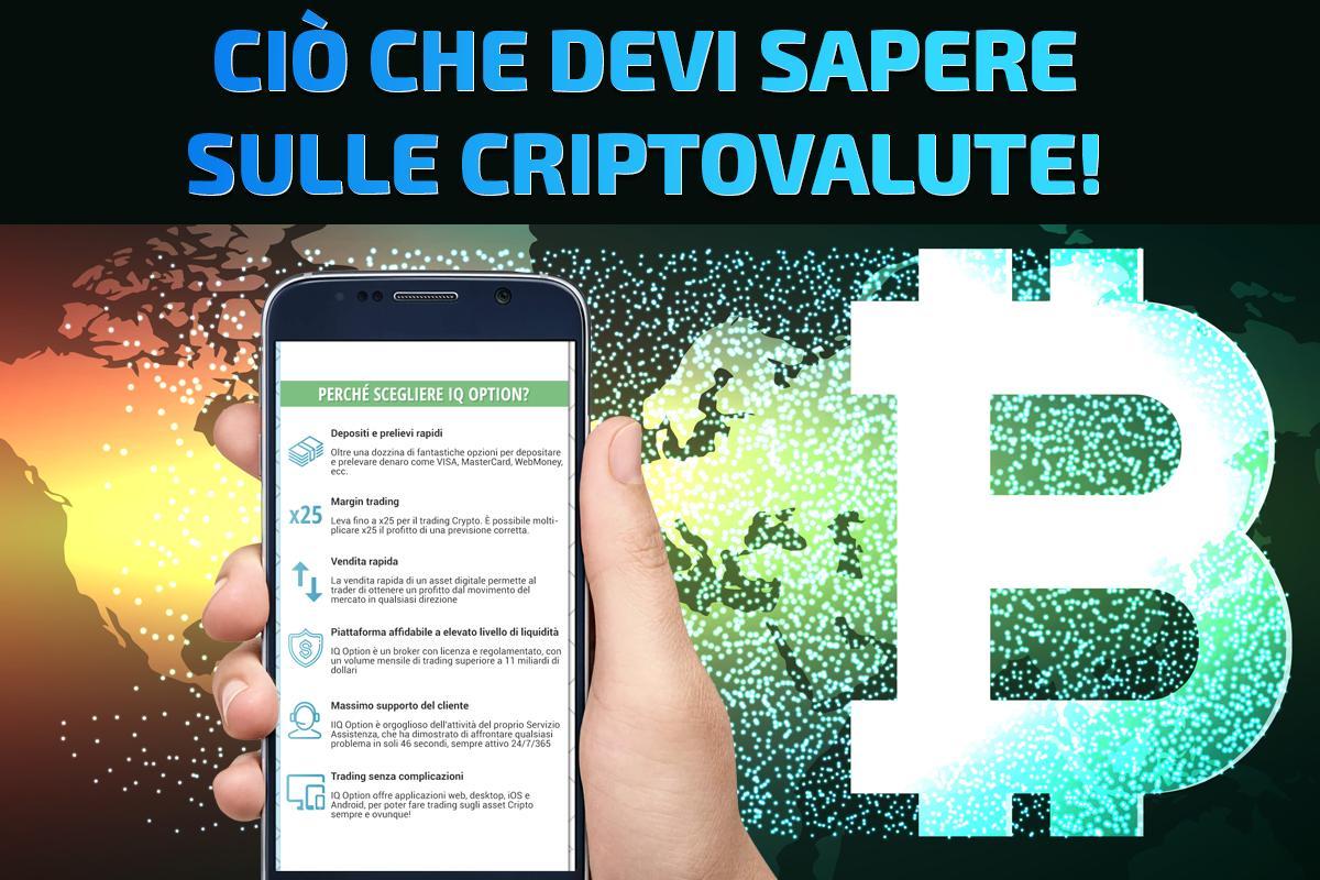 Investire criptovalute in italia