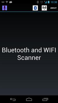 Bluetooth and Wifi scanner poster