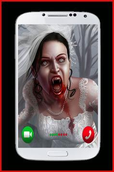 Scary Ghost Video Call apk screenshot