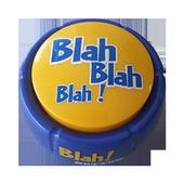 Blah! Button ® icon