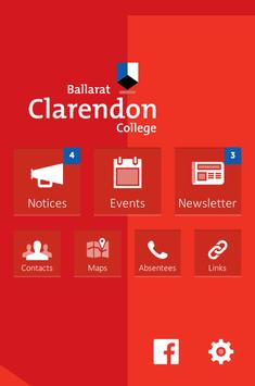 Ballarat Clarendon College poster