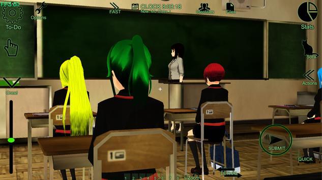 Schoolgirl Supervisor - Saori Sato apk screenshot