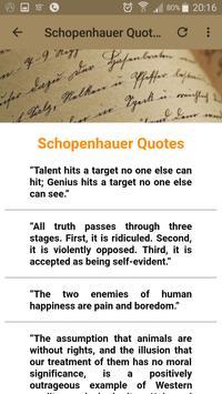 Schopenhauer Quotes screenshot 7