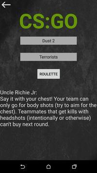 Strat Roulette скриншот приложения
