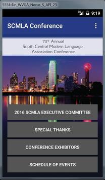 SCMLA Conference poster