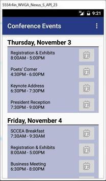 SCMLA Conference apk screenshot